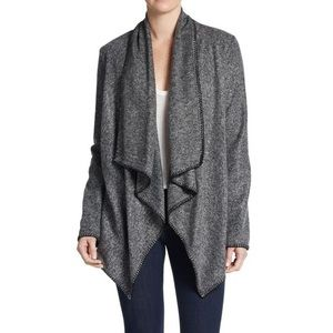 Bailey 44 open front draped cardigan wrap sweater
